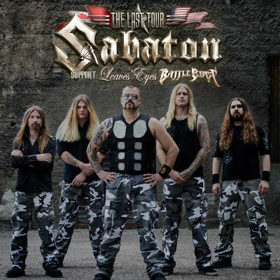Image result for sabaton 2017 north american tour