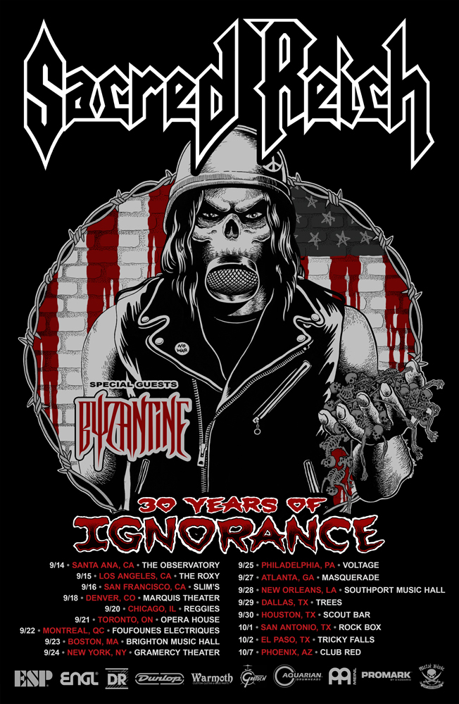 Heavy Metal Tour Dates Usa
